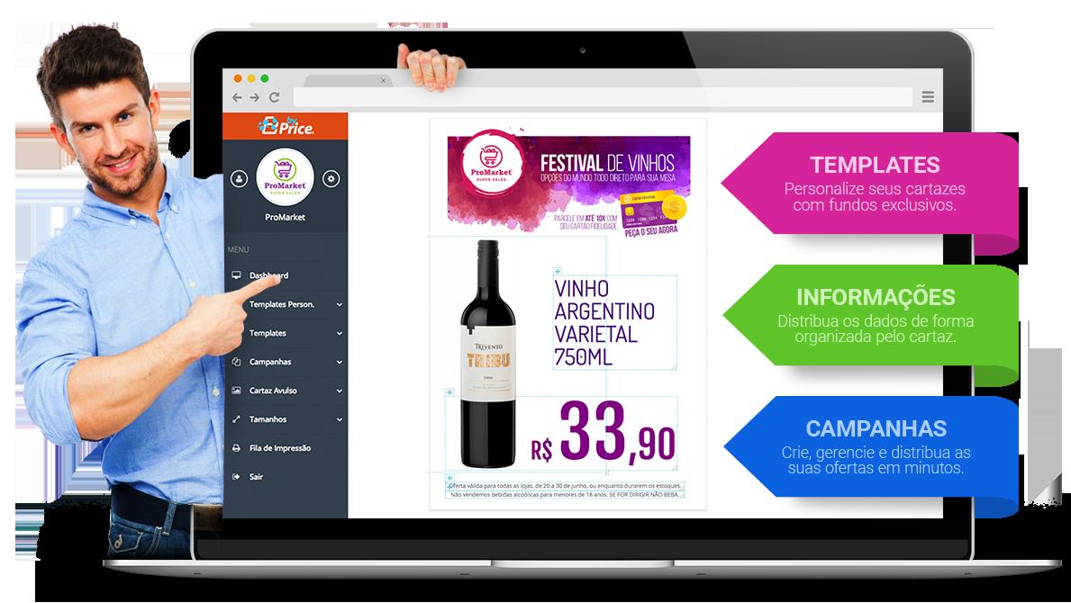 Sistema para criação de Cartazes de Oferta e Promocionais